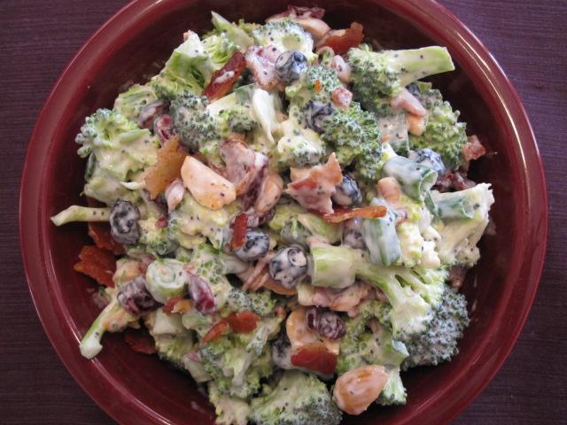 Savory Spring-y Broccoli Salad -healthified!Healthnut Foodie